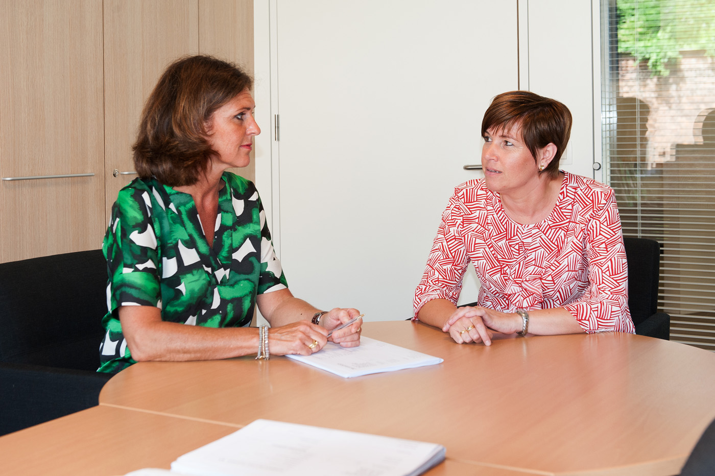 Woonzorgcentrum Mariatroon Isabelle Tondeurs en Katrien Fierens
