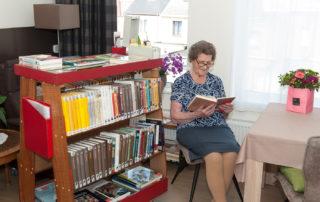 Woonzorgcentrum Mariatroon bibliotheek