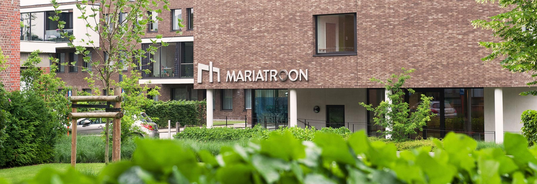 Woonzorgcentrum Mariatroon Dendermonde gevel
